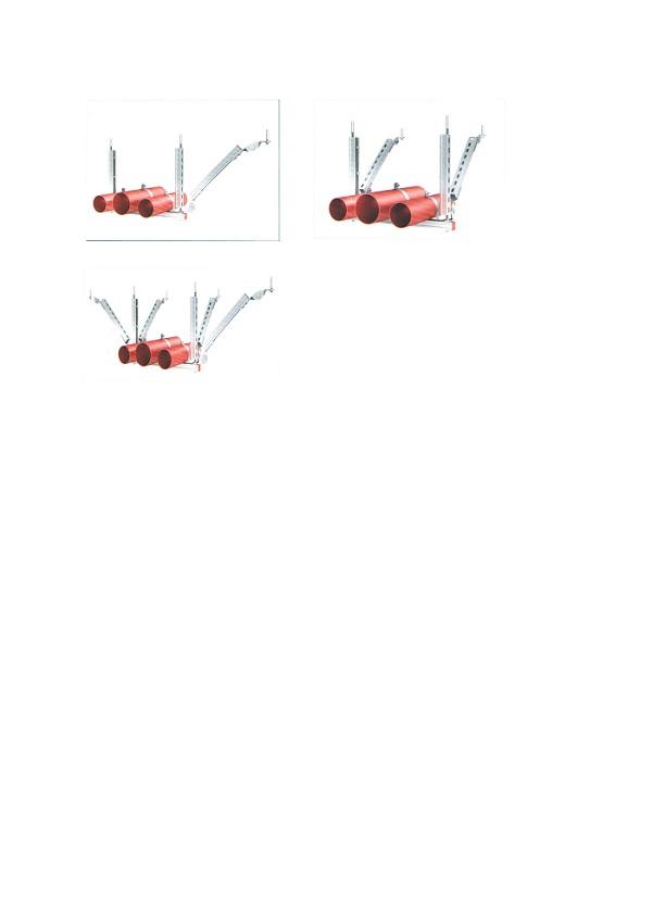 单管侧向抗震支撑吊架